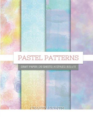 (Pastel Patterns Craft Paper: Pastel Decorative Paper Pad for Scrapbooking, Printmaking - 8.5 x 11)