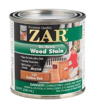 (ZAR 12706 1/2 PT, Golden Oak, Interior Wood Stain, 1/2PT,)
