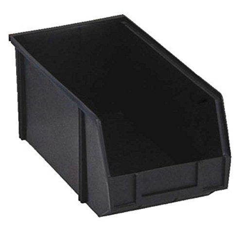 Conductive Stacking Bins - Conductive Stacking Bin Box, Black, 14-1/16 x 15-15/32 x 6-7/8