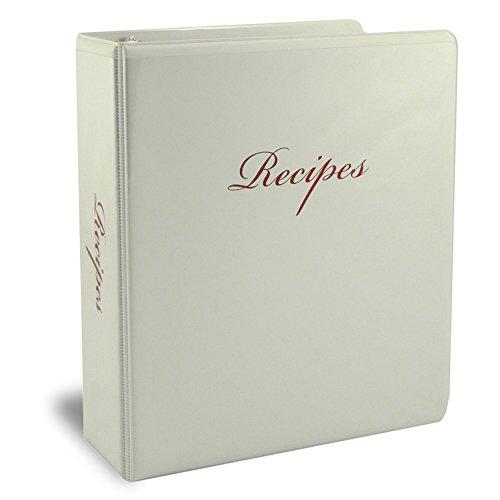 half page recipe binder - 2