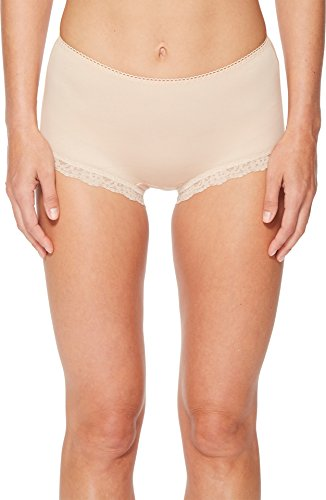 (Hanky Panky Cotton Organic Betty Brief, XS, Chai)