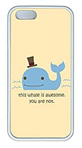 Lovely Small Whales - iPhone 5S Case Funny Lovely Best Cool Customize White Cover by Maris's Diary