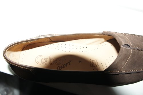 Gabor 34140, Mocassini donna Marrone Chocolate Brown 7 UK