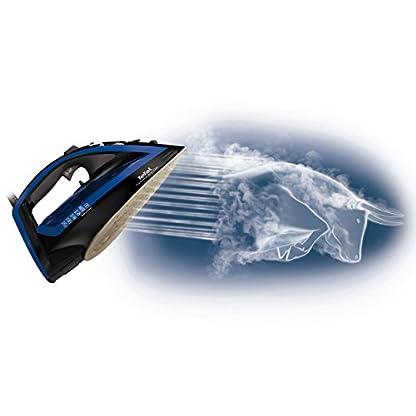 Tefal FV5648 Aquaspeed Turbo Pro Anti-Calc Dampfbügeleisen , 220 g/min Dampfstoß, 2600 W, dunkelgrau/velvet-blau 2