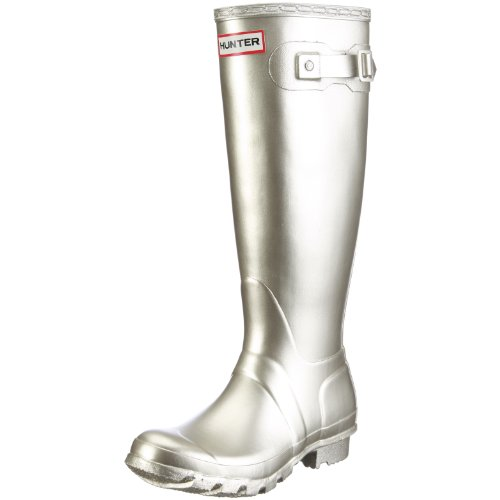 Hunter Boot Tall Original Wellington Metallic Gold Women's rPXwqr