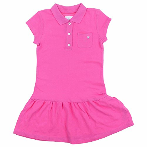 Carters Girls Cute Summer Play Dresses (5, Pink Solid)