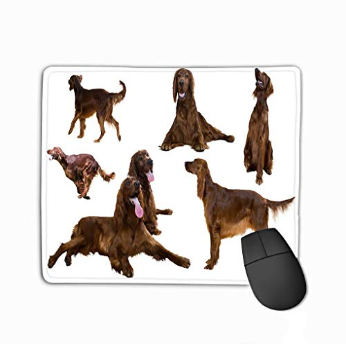 Mouse Pad Tiger Head Clip Art Logo use Rectangle Rubber Mousepad 11.81 X 9.84 Inch