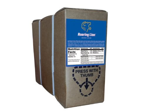 Roaring Lion Bag-in-a-Box (1-Gallon Unit) (Roaring Lion Energy Drink compare prices)