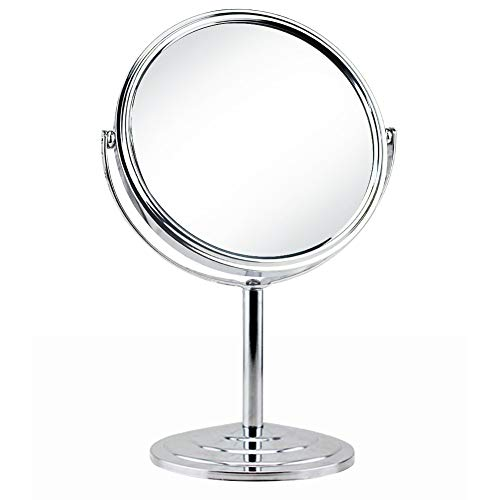 Schliersee Magnifying Vanity Table Mirror Double Sided 7 Inch Swivel 3X Magnification -