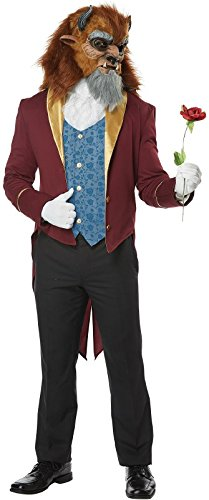 California Costumes Men's Storybook Beast Adult Man Costume, Multi, Small -