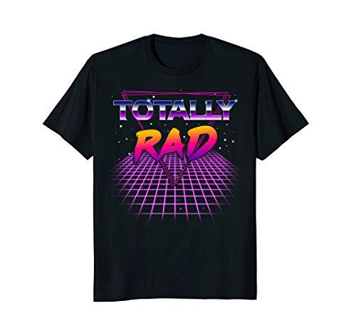 Totally Rad 1980s Neon Grid T-shirt
