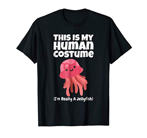This Is My Human Costume I'm a Jellyfish T-Shirt Kids -