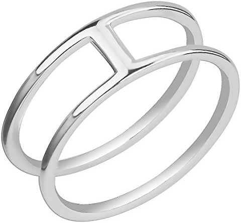 .925 Sterling Silver Cute Knuckle Rings Size 3.5Choose Style Type