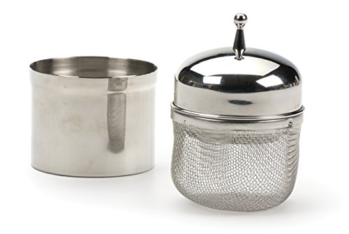 RSVP Endurance Stainless Steel Floating Spice Ball Infuser, 1/2-Cup capacity by RSVP International (Image #4)