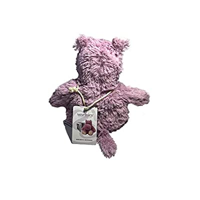 Warmies Hippo Cozy Plush Heatable Lavender Scented Stuffed Animal: Home & Kitchen