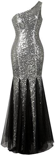 Sparkle Sequin Mesh Gown - 2