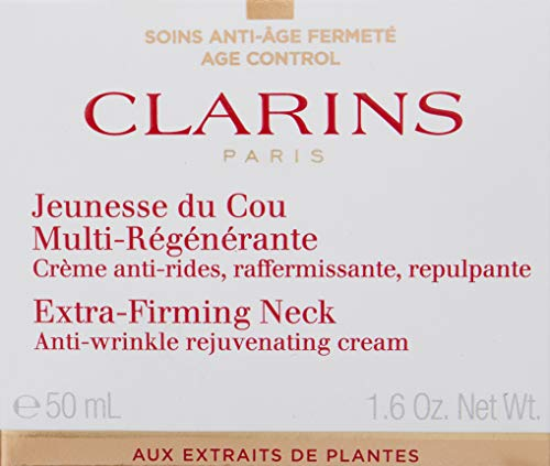 Clarins Extra-Firming Neck Anti-Wrinkle Rejuvenating Cream, 1.6 Ounce by Clarins (Image #3)