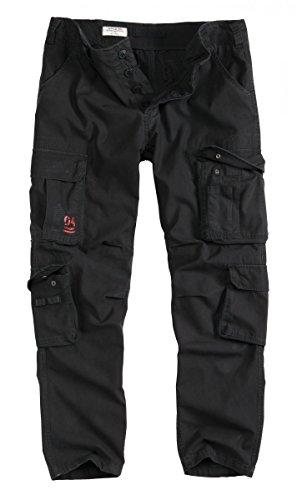 Nell'aria Nero Slimmy Pantaloni Surplus Vintage wqp4dTwH
