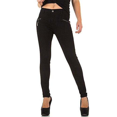 Ital Skinny Jeans Donna Nero design rxYafqnr