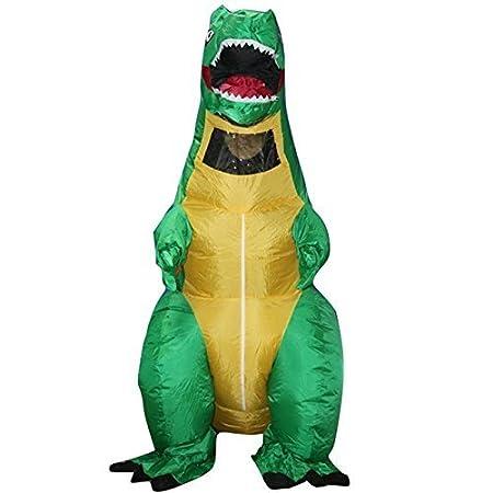 Sohler By Eurotrade W 2003243 - Traje de disfraz de dinosaurio para Halloween, talla única, hinchable