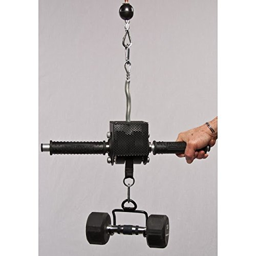 GRIP FREAK 'Slip Grips' Grip Strengthener with Dumbbell Loading Hook by GRIP FREAK Grip Strength Trainers