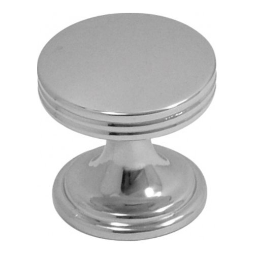 Hickory Hardware P2140-CH American Diner Collection Knob 1 Inch Diameter, ()