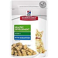 Hill's Science Diet Kitten Healthy Development Ocean Fish Pouches Cat Food 85g