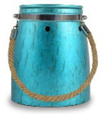 turqoise-metallic-jar-with-rope-handle-design-ceramic-stoneware-electric-wax-and-oil-warmer