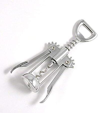 Metaltex 250500010 - Sacacorchos, Cromado, 16 centímetros