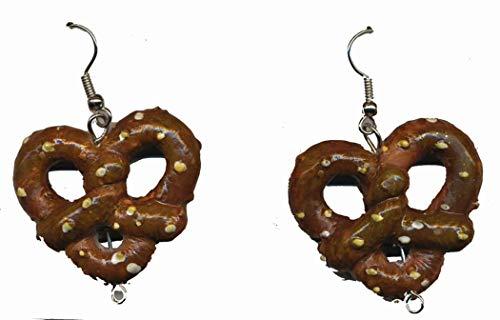 Forum Novelties Oktoberfest - Pretzel Earrings -