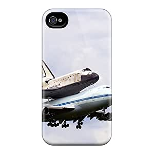 New Style Yinmobileshop Hard Cases Covers For Iphone 4/4s- Space Shuttle Discovery