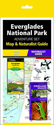 Everglades National Park Adventure Set: Map and Naturalist Guide