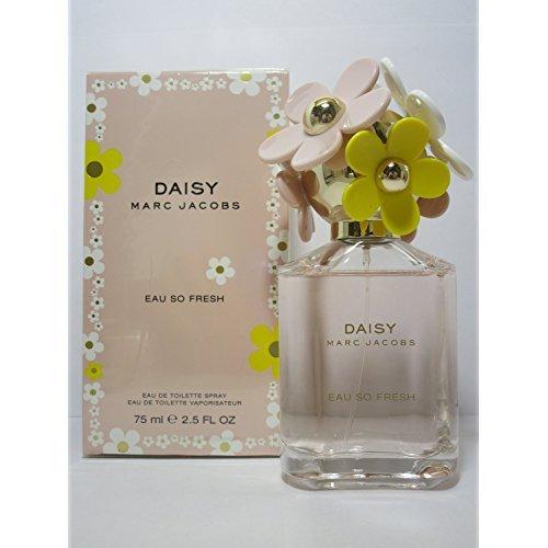 Marc Jacobs Daisy Eau So Fresh Eau de Toilette Spray for Women, 2.5 Fluid Ounce (Marc Jacobs Daisy Eau So Fresh 125ml)