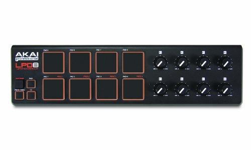 [해외] Akai Professional 소형 8패드USB MIDI콘트롤러 (Mac・PC대응) LPD8