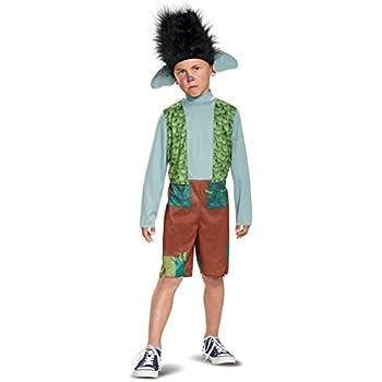 Branch Classic Trolls Costume, Multicolor, Small (4-6)