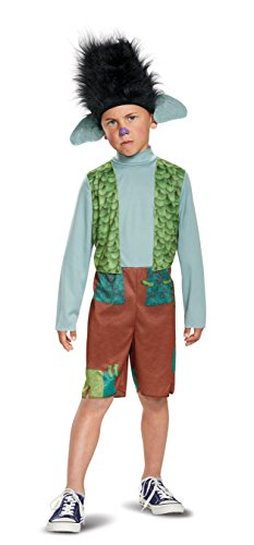 Halloween Troll Costumes (Disguise Branch Classic Trolls Costume, Multicolor, X-Small (3T-4T))