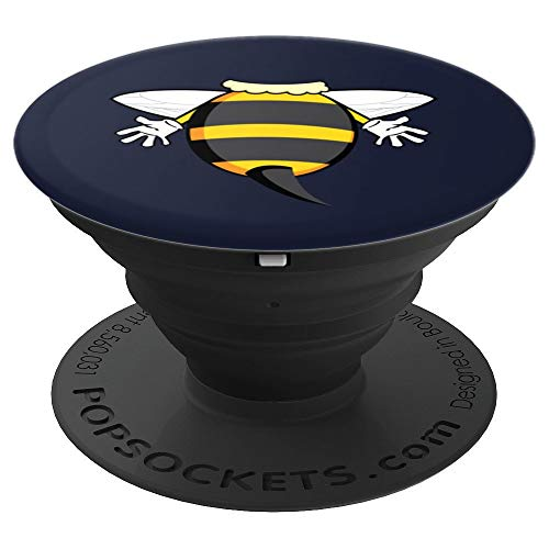 (Funny Bee Costume Easy Art - Honeybee Halloween Cheap Gift - PopSockets Grip and Stand for Phones and)