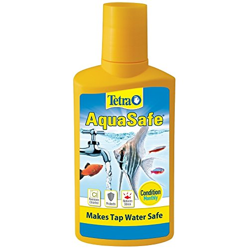 Tetra AquaSafe Fish Tank Water Conditioner, 8.45 fl - Aquasafe Conditioner Water Tetra Aqua