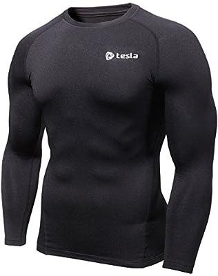 Tesla Men's Thermal Coldgear Compression Long Sleeve T Shirts R34/R44/RX1