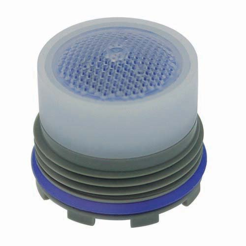 Neoperl 13 0340 2 Low Flow PCA Cache Perlator HC Aerator, Tom Thumb Size, 1 GPM, Blue/Clear Dome, Honeycomb Screen, Laminar Stream, M16.5 x 1 Threads, Plastic, 0.591'' Height (Pack of 6) by Neoperl