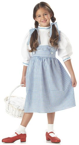 The Wizard of Oz Dorothy Deluxe Child Costume - Large - Kid's Costumes (Wizard Of Oz Dorothy Costume For Kids)