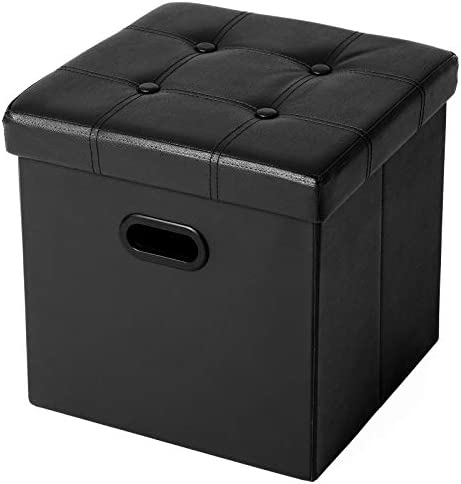 SONGMICS Folding Storage Ottoman