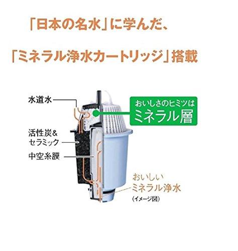 パナソニック 浄水器 ポット型  2L 白 TK-CP21-W