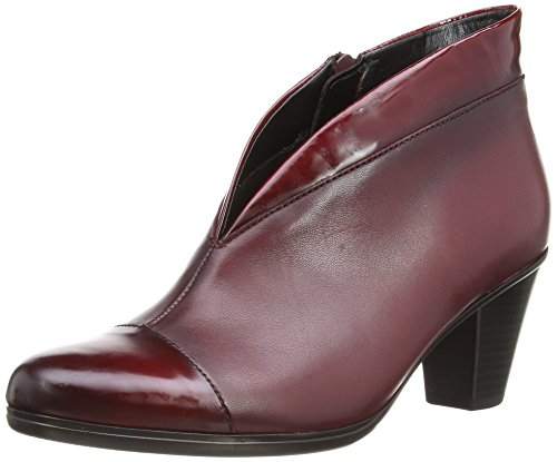 Enfield Femme Red Gabor Rouge Patent 15 Bottes EU Classiques Dark Rouge Leather Trim 1znxRdn