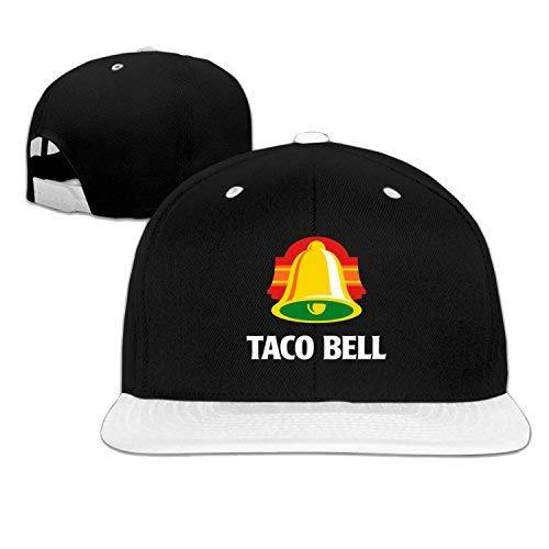 aoliaoyudongyongpin Taco Bell Snapback Baseball Cap Hip Hop Hat Green (5 Colors) White -