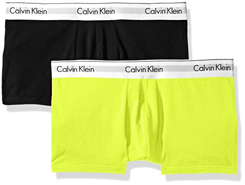 Calvin Klein Men s Underwear Modern Cotton Stretch 2 Pack Trunks ... e02bbd715