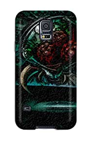 8692229K96125162 High Impact Dirt/shock Proof Case Cover For Galaxy S5 (metroid Engraving)