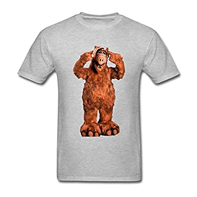 Xerinin Men's Alf logo T shirts