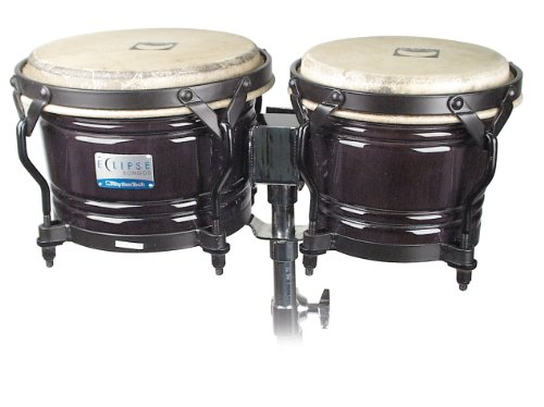 Rhythm Tech RT 5601 Eclipse Bongos-Black ()