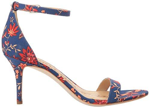 Sam Edelman Damen Patti Pumps Blue/Multi Festival Floral Print